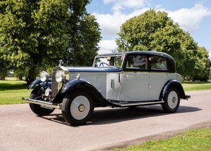 1933 Rolls-Royce 2025 Saloon by Lancefield SOLD by Auction