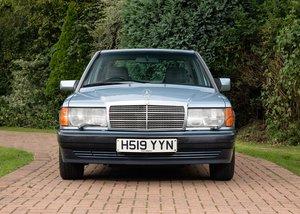 1991 Mercedes-Benz 190E (2.6 litre) SOLD by Auction