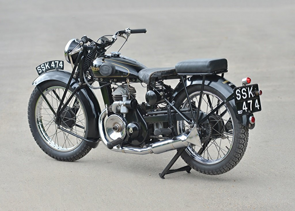 1937 Francis Barnett Seagull 250cc Villiers SOLD by Auction (picture 1 of 6)