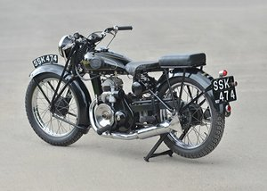 1937 Francis Barnett Seagull 250cc Villiers SOLD by Auction