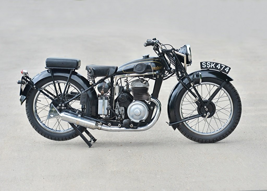 1937 Francis Barnett Seagull 250cc Villiers SOLD by Auction (picture 2 of 6)