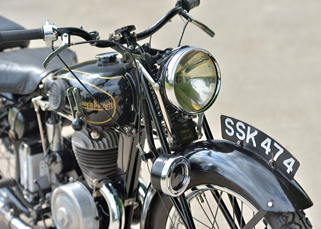 1937 Francis Barnett Seagull 250cc Villiers SOLD by Auction (picture 6 of 6)