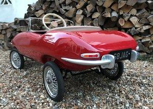 1961 Tri-ang Jaguar E-Type Pedal Car SOLD by Auction