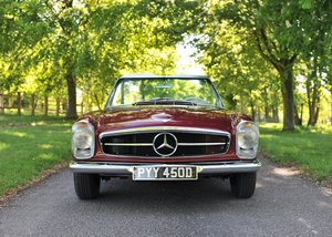 1966 Mercedes-Benz 230 SL Pagoda SOLD by Auction