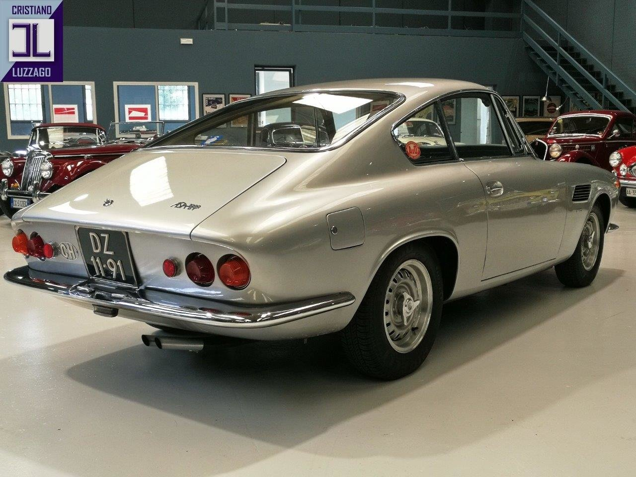 "EXCEPTIONAL AND RARE 1965 ASA 1000 GT "" LA FERRARINA"" For Sale (picture 2 of 6)"