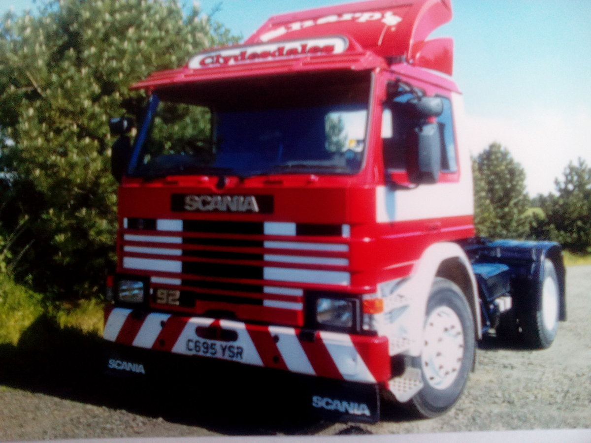 1985 Scania 92m artic lorry - private For Sale (picture 1 of 6)