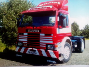 1985 Scania 92m artic lorry - private