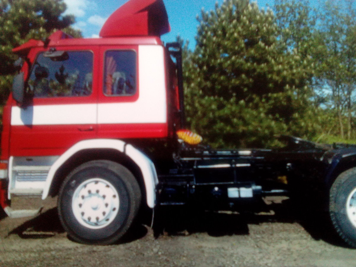 1985 Scania 92m artic lorry - private For Sale (picture 2 of 6)