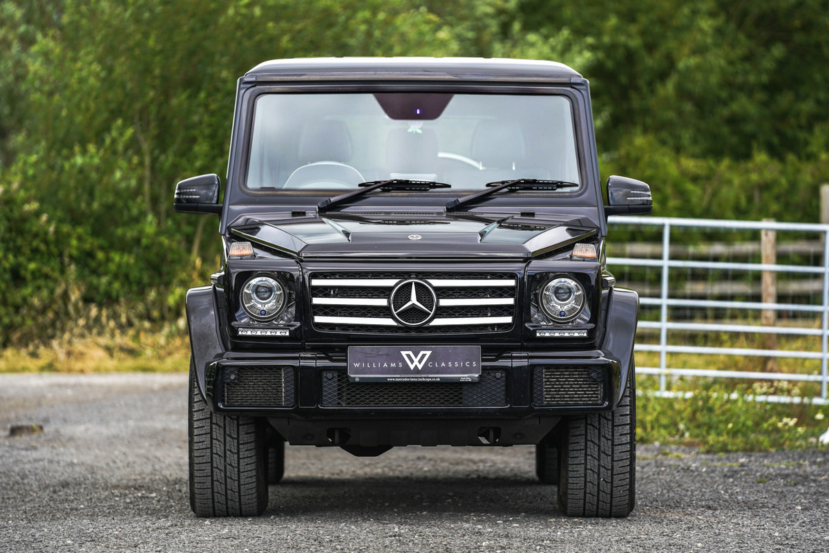 2017 Mercedes-Benz G Wagon 3.0 G350 Night Edition G-Tronic 4WD SOLD (picture 2 of 6)