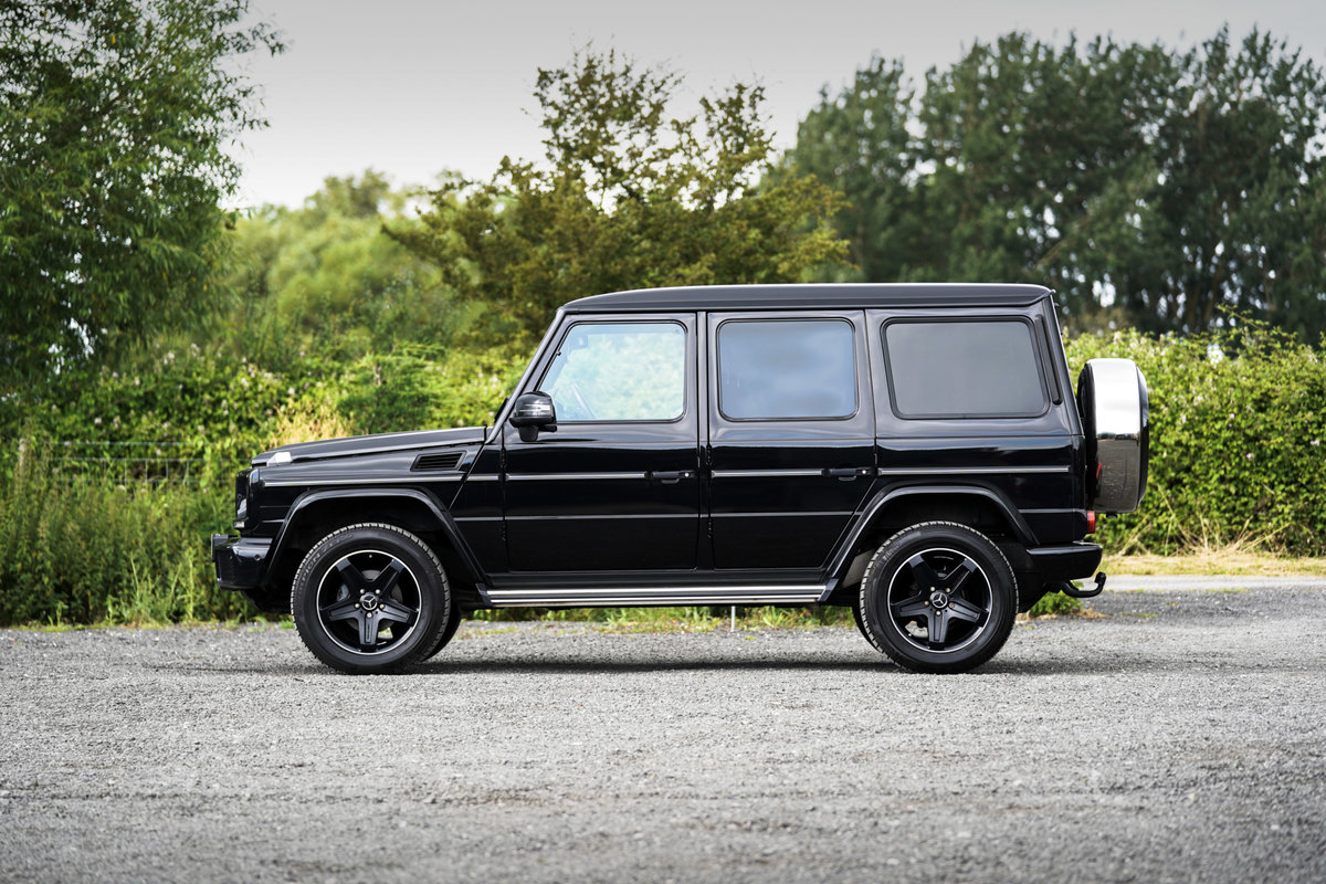 2017 Mercedes-Benz G Wagon 3.0 G350 Night Edition G-Tronic 4WD SOLD (picture 3 of 6)