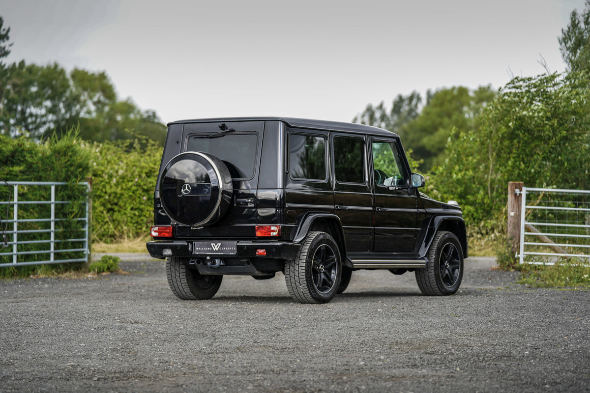 2017 Mercedes-Benz G Wagon 3.0 G350 Night Edition G-Tronic 4WD SOLD (picture 5 of 6)
