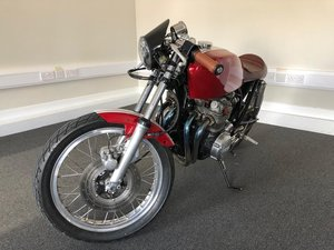 1976 Honda CB400 Super Four 399cc BEAUTIFUL CAFERACER CONVERSION For Sale