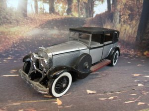 Hispano suiza h6b sedanca project