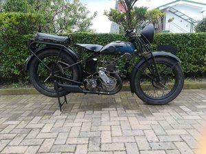 Monet Goyon 250cc - 1930 - very nice patina For Sale