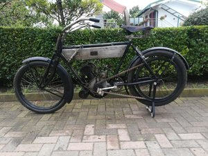 Terrot Zedel 317cc Motorette N°3 - 1912 For Sale