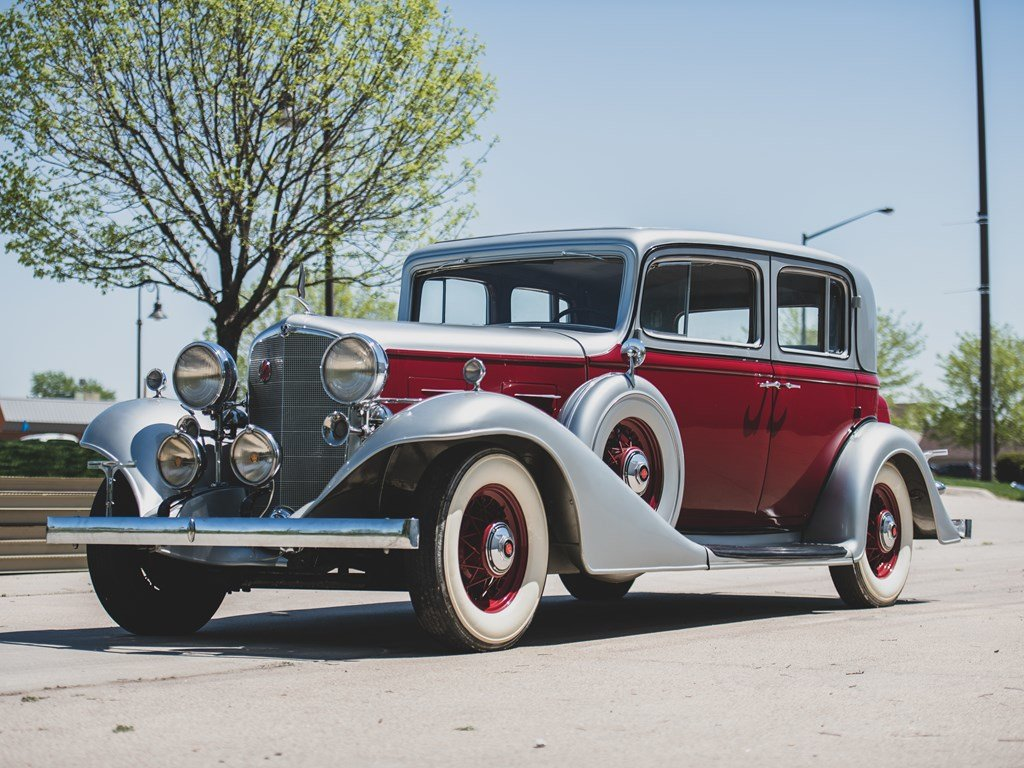 1933 LaSalle 345C Sedan For Sale by Auction | Car And Classic