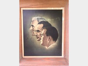Norman Rockwell Print of Ford Family For Sale by Auction