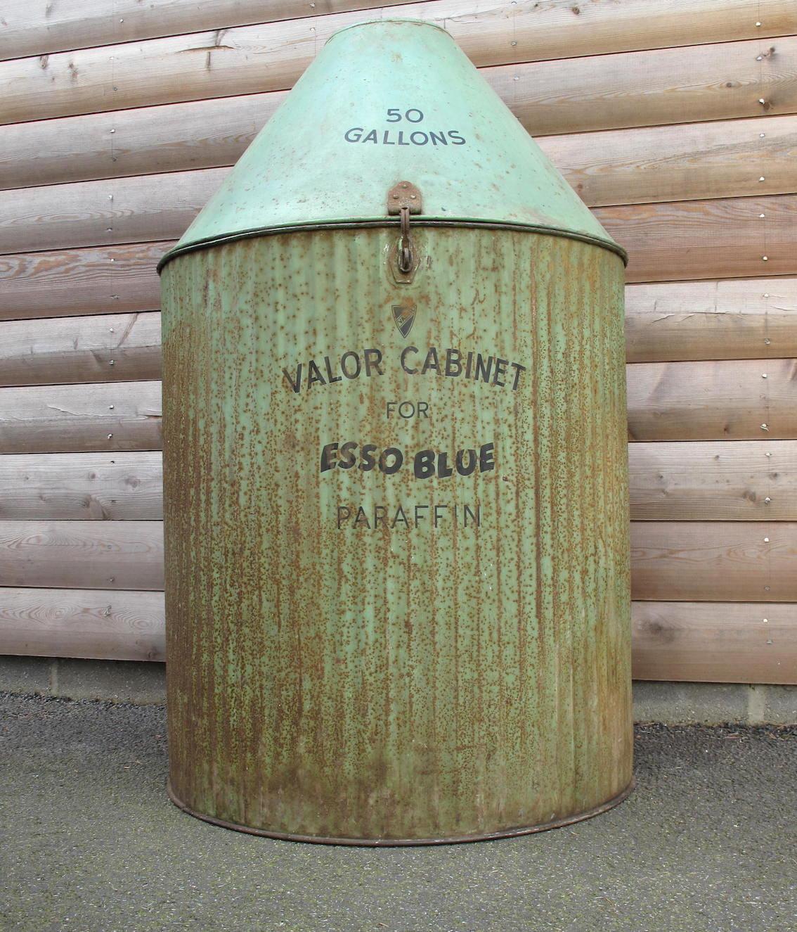 Esso Blue Paraffin Valor Cabinet For Sale (picture 1 of 6)