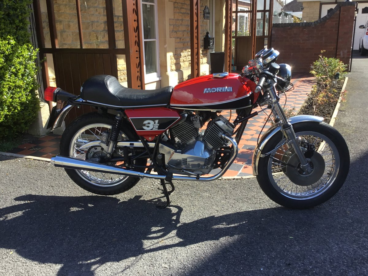 1975 Moto Morini 3 1/2 Sport, Stunning!  For Sale (picture 1 of 6)