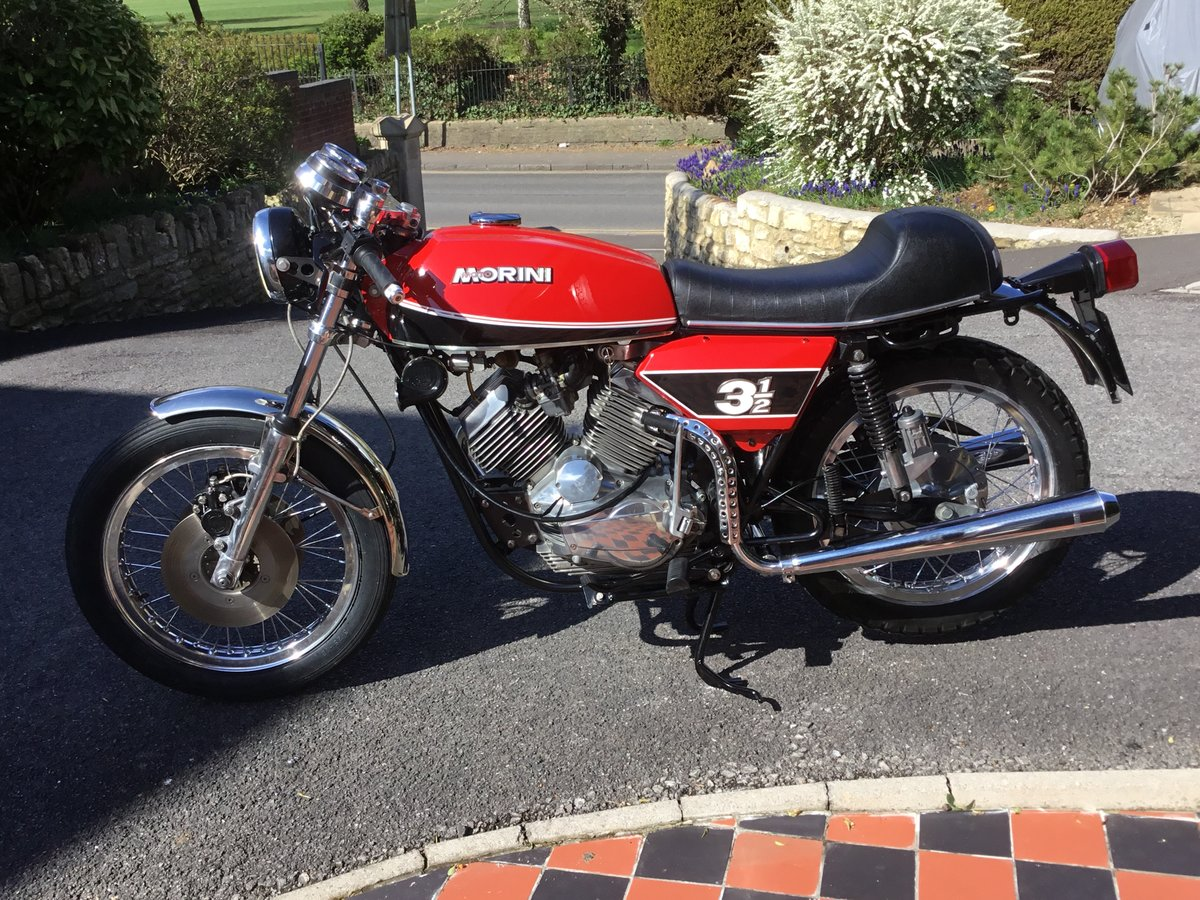 1975 Moto Morini 3 1/2 Sport, Stunning!  For Sale (picture 2 of 6)