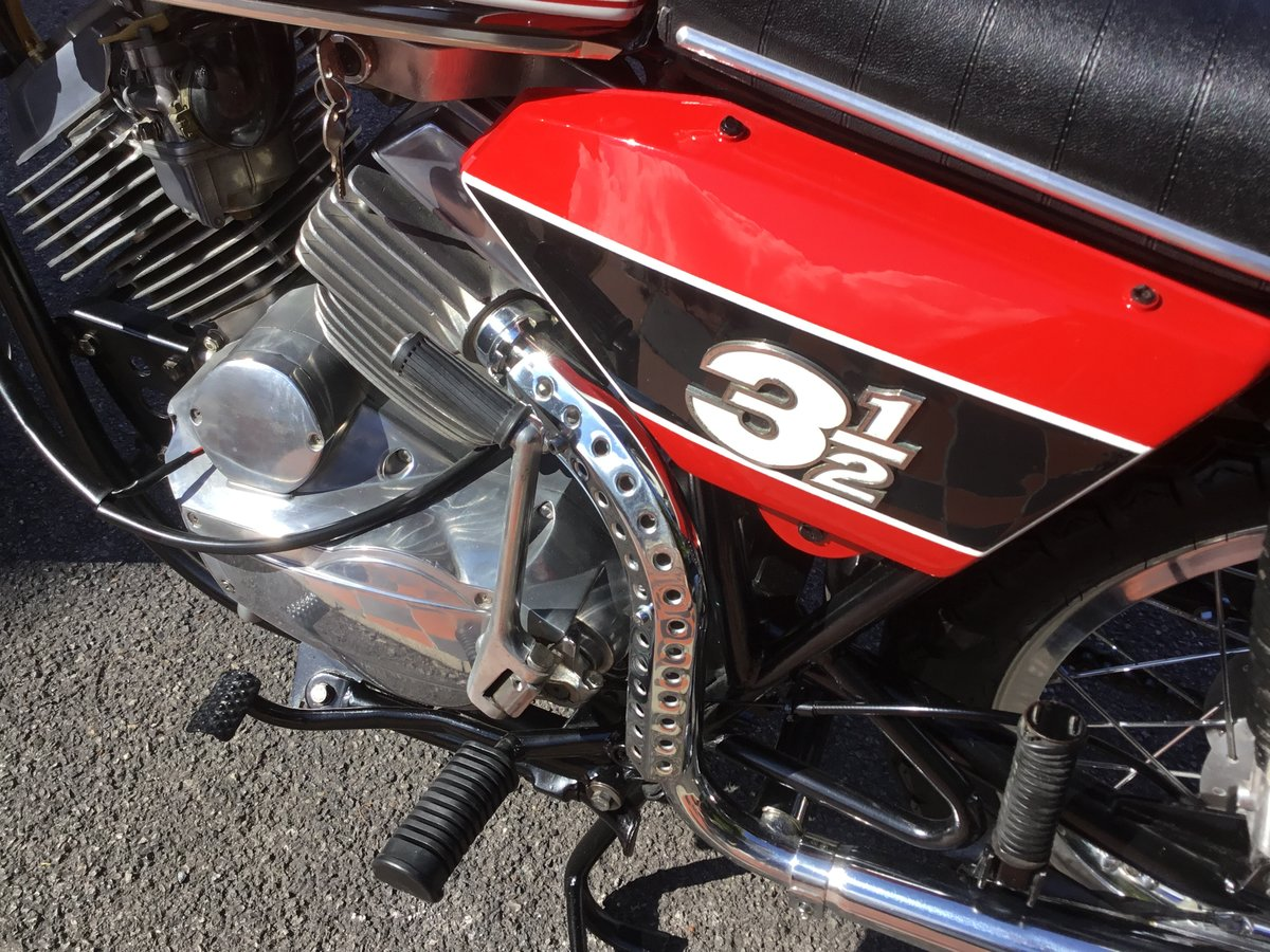 1975 Moto Morini 3 1/2 Sport, Stunning!  For Sale (picture 5 of 6)