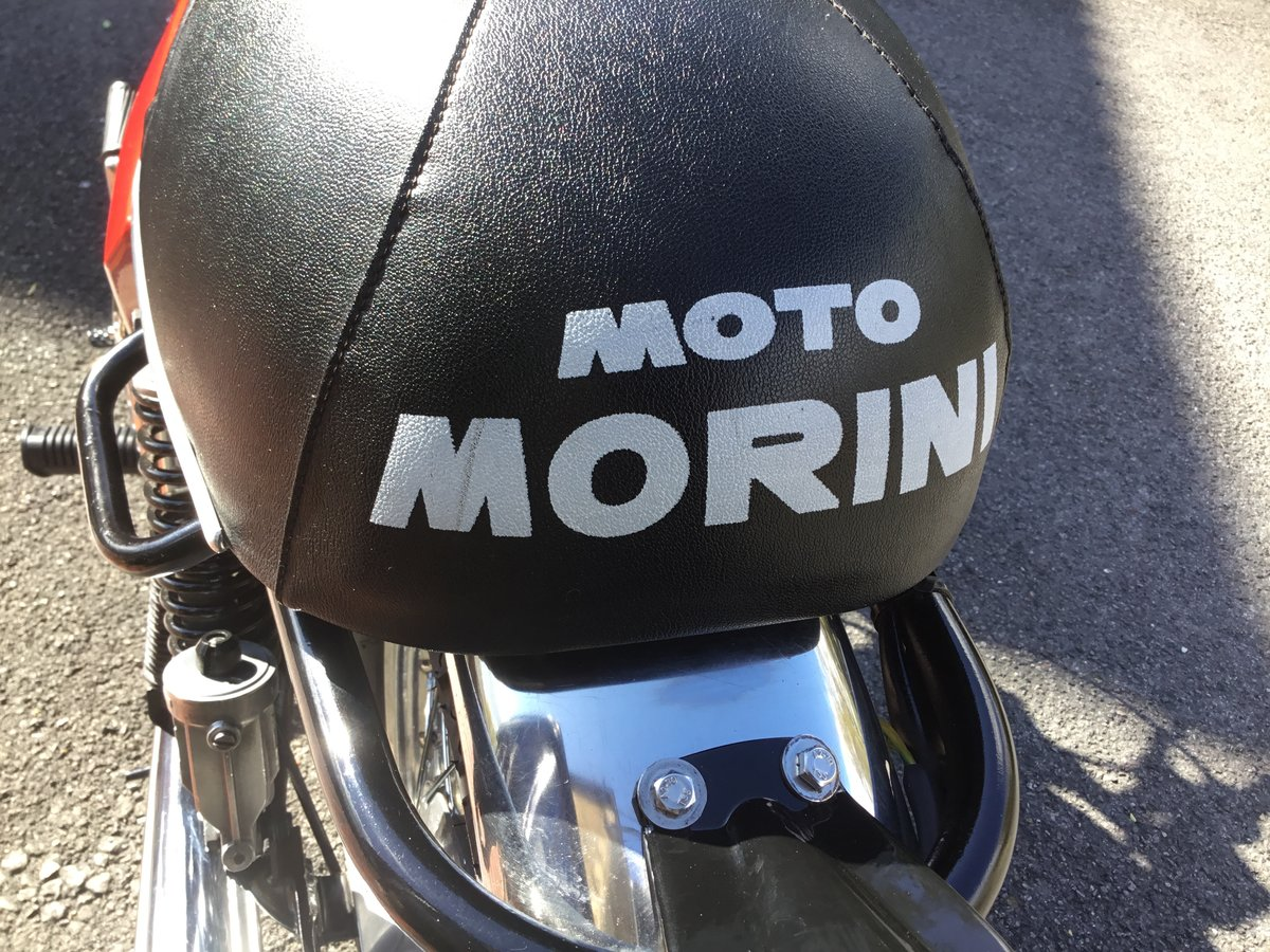 1975 Moto Morini 3 1/2 Sport, Stunning!  For Sale (picture 6 of 6)