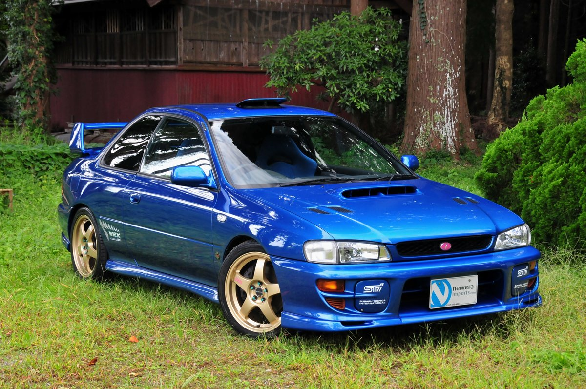 1998 Impreza Type R STi V-Limited Version 6-Spec Stunning Example For Sale (picture 1 of 6)