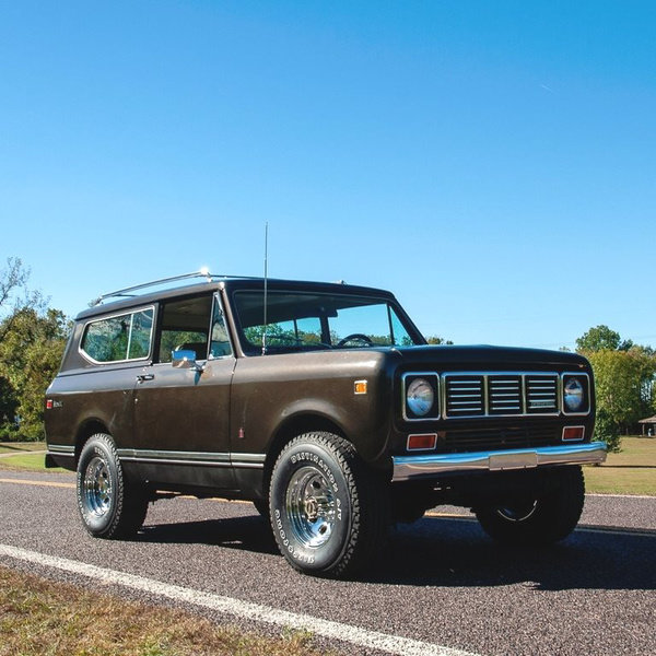 1976 International Scout Scout II 4x4 345 CID V-8  $25.9k For Sale (picture 3 of 4)