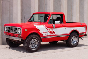 1976 International Scout EFI Pickup Truck 4X4 Restored $34.9