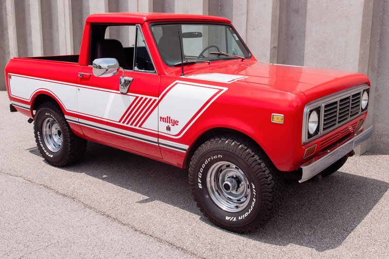 1976 International Scout EFI Pickup Truck 4X4 Restored $34.9 For Sale (picture 2 of 6)