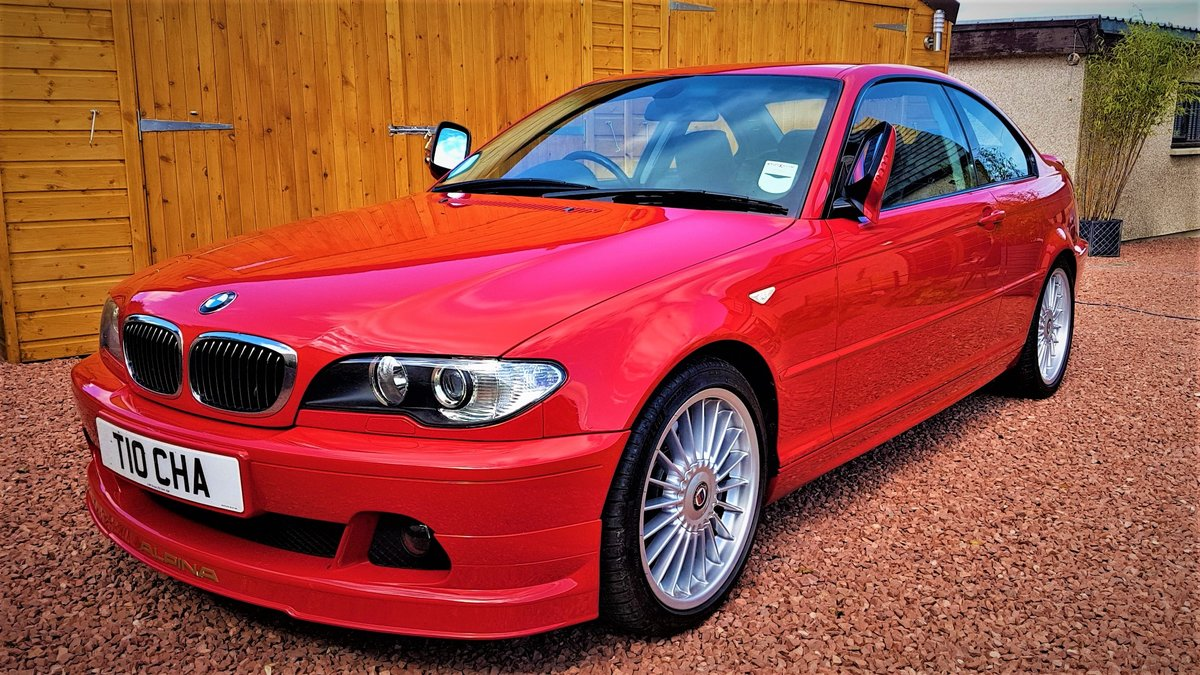 2003 BMW Alpina B3S Coupe Japan Red For Sale (picture 1 of 6)