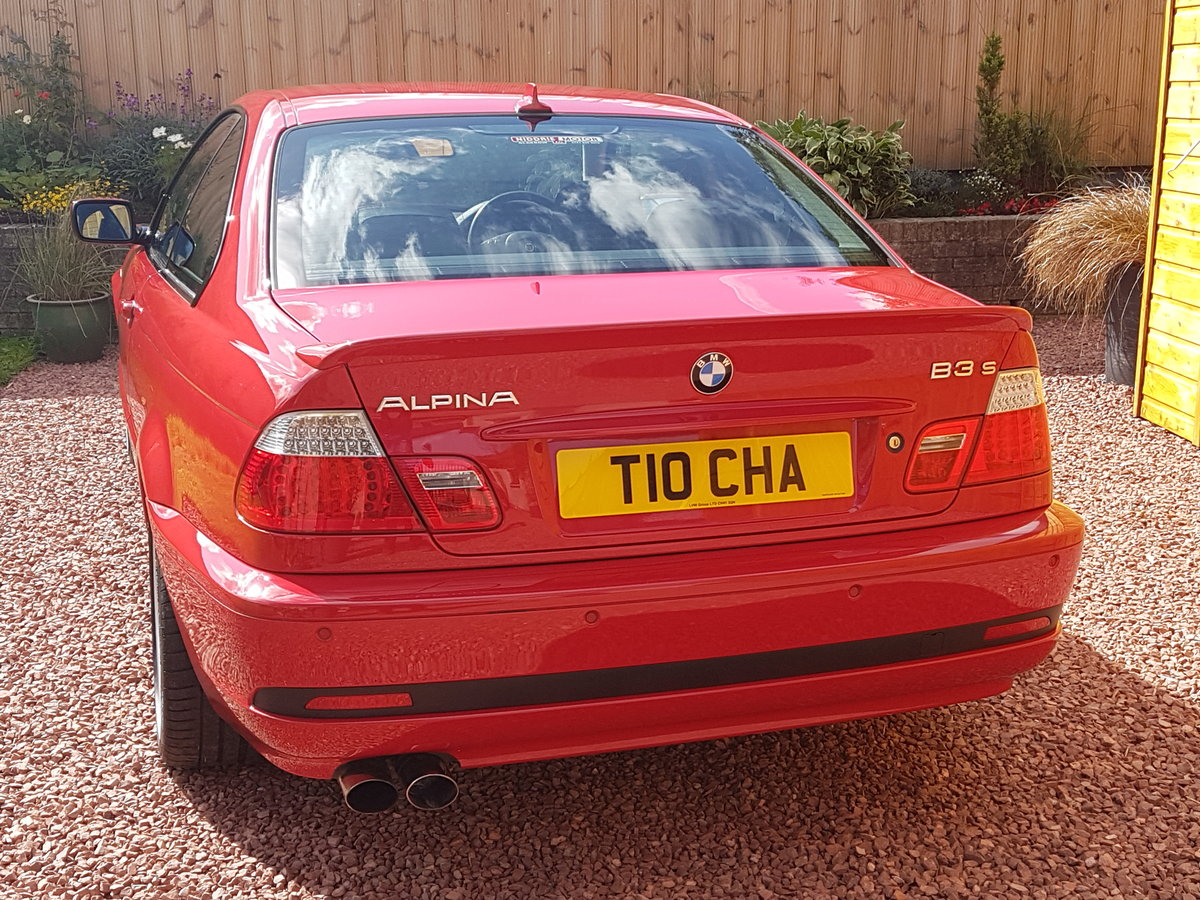 2003 BMW Alpina B3S Coupe Japan Red For Sale (picture 4 of 6)