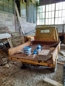 1979 Piaggio 3 Wheeler Restoration Project