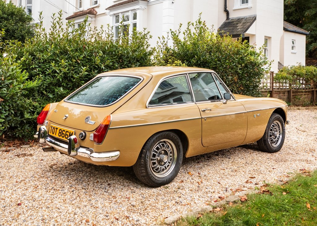 1974 MGB GT V8 SOLD by Auction (picture 4 of 6)