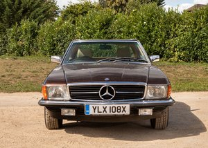 1981 Mercedes-Benz 380 SL Roadster For Sale by Auction