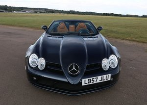 2008 Mercedes-Benz McLaren SLR Roadster SOLD by Auction