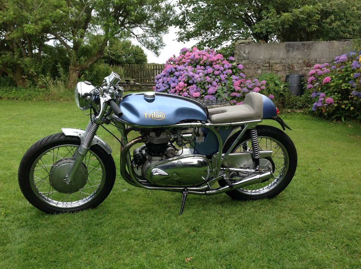 1957 Triton cafe racer For Sale (picture 1 of 6)