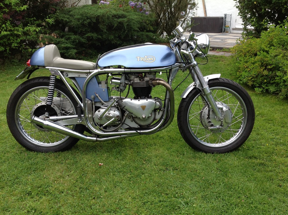 1957 Triton cafe racer For Sale (picture 2 of 6)
