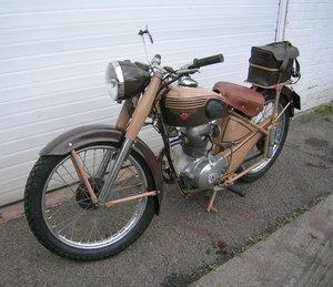 1954 Motobecane Historic D45 Z46C 125cc Motorbike For Sale