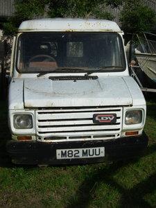 1995 LDV van with sliding doors for restoration.