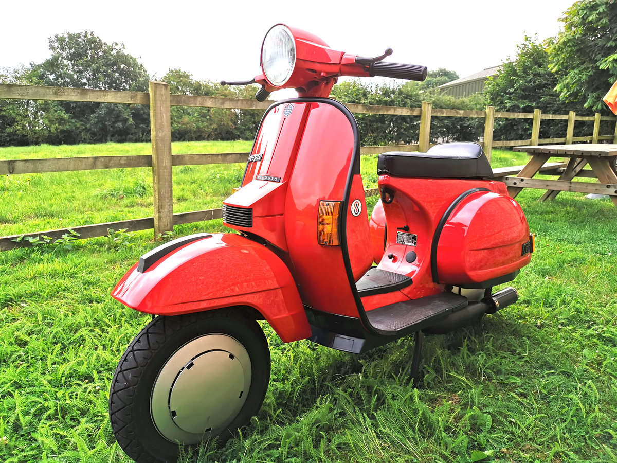 1996 Vespa T5 Classic Malossi 172 For Sale | Car And Classic