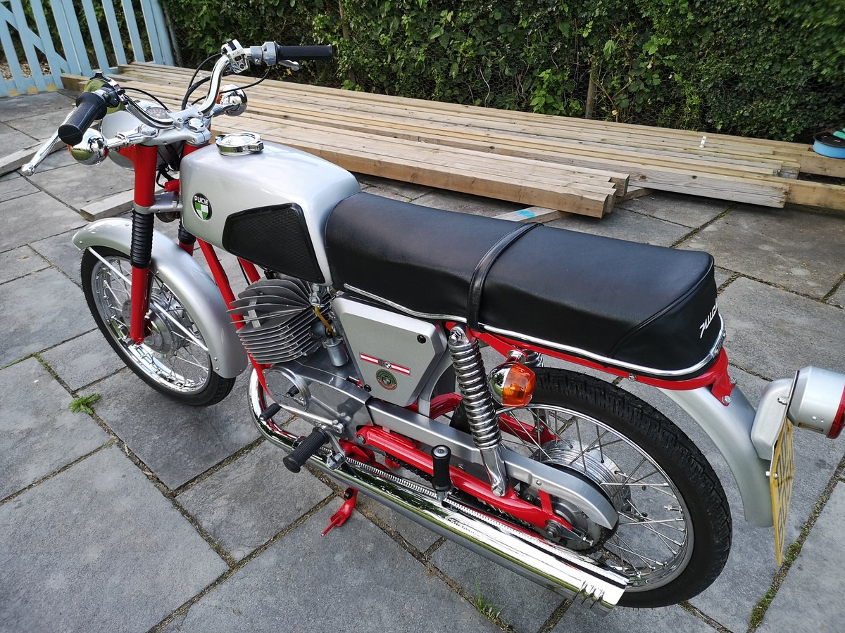 1970 Puch M125 Motorcycle For Sale SOLD (picture 1 of 6)