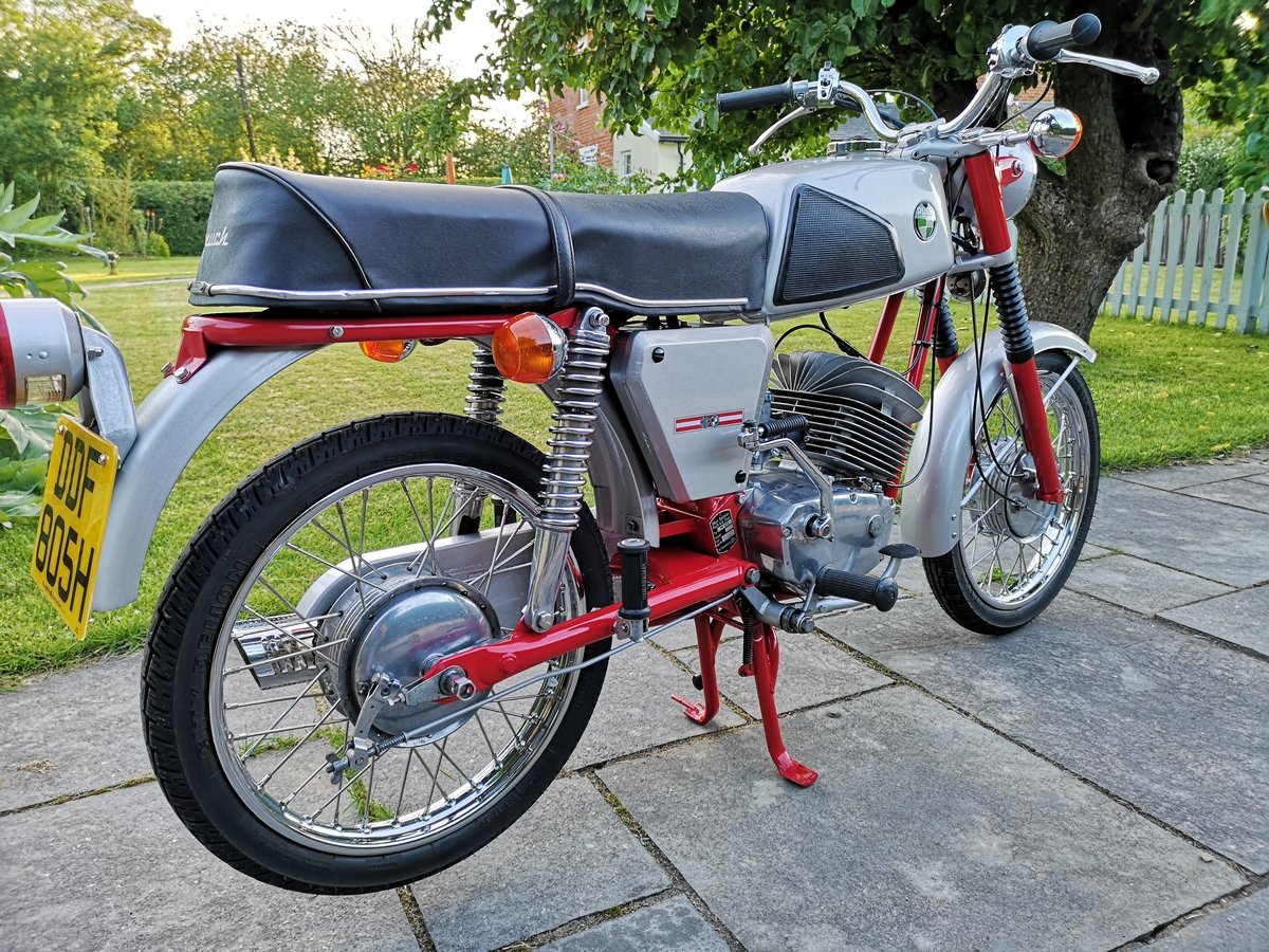 1970 Puch M125 Motorcycle For Sale SOLD (picture 3 of 6)