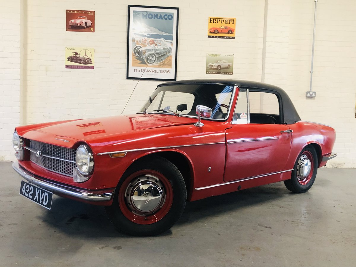 1962 Innocenti 950 Spider - excellent value for money  For Sale (picture 1 of 6)