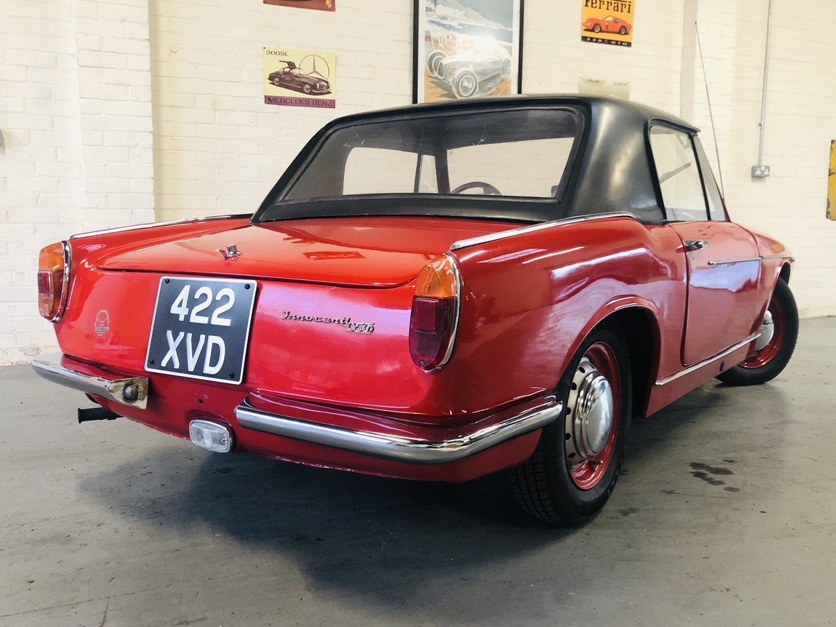 1962 Innocenti 950 Spider - excellent value for money  For Sale (picture 2 of 6)