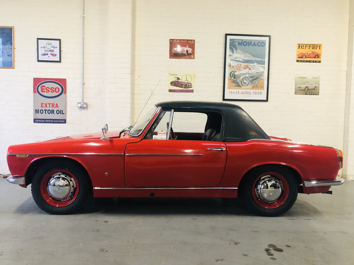 1962 Innocenti 950 Spider - excellent value for money  For Sale (picture 3 of 6)