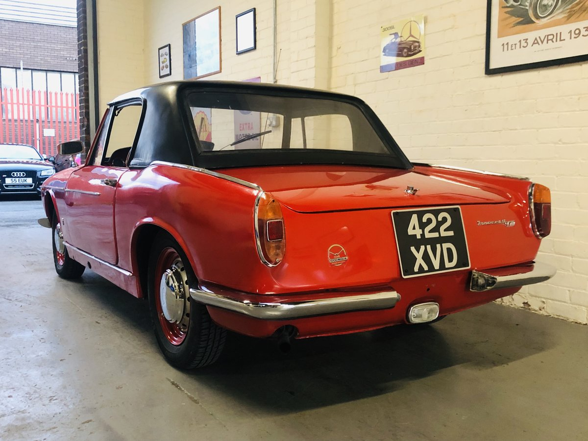 1962 Innocenti 950 Spider - excellent value for money  For Sale (picture 4 of 6)