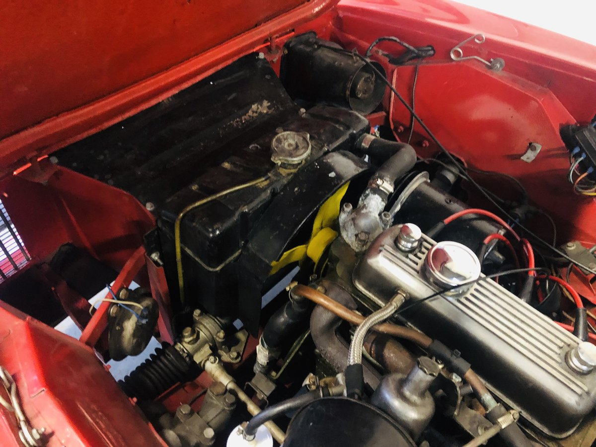 1962 Innocenti 950 Spider - excellent value for money  For Sale (picture 5 of 6)