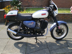MZ Cafe Racer ETZ 251, Cheap winter project  SOLD