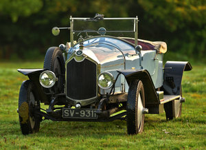 1923 Crossley 19.6hp Drophead Coupe with Dickey For Sale